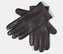 Lederhandschuhe, schwarz