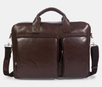 Briefcase Jones, dunkelbraun