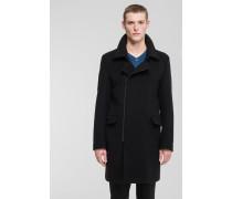 Mantel Blins, schwarz