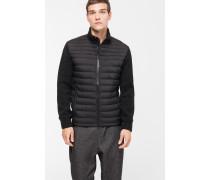 4Seasons Knit Jacket, schwarz/dunkelgrau