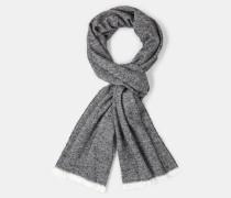 Schal, schwarz/weiß