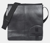 Messenger-Bag Jones, schwarz