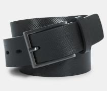 Ledergürtel, schwarz