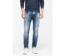 Jeans Robin, used denim blue