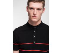 Polo-Shirt Petre, schwarz