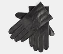 Lederhandschuhe in Geschenkbox, schwarz