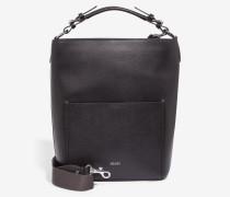 Hobo-Bag Mina in Schwarz
