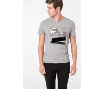 T-Shirt Alex in Hellgrau