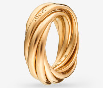 Ring Embrace in Roségold