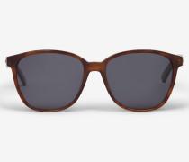 Sonnenbrille in Braun