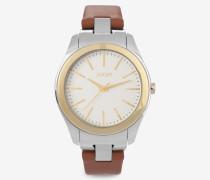 Armbanduhr Classic in Gold/Cognac Cognac