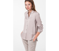 Seiden-Bluse Blooma in Hell-Beige