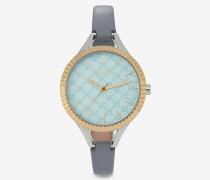 Armbanduhr Classic in Gold/Lindgrün