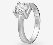 Ring Hilary in Silber