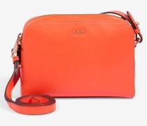 Kleine Schultertasche Cloe in Orange