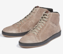 Hightop-Sneaker Rheos in Taupe