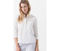 Bluse Bini in Natur-Weiß