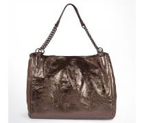 Hobo-Bag Lenja in Bronze