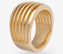 Ring Stripes in Gold