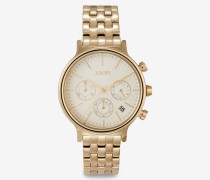Chronograph Carla in Gold/Champagner