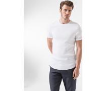 Ripp-Shirt Almar in Weiß