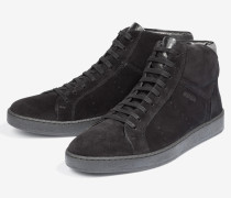 Hightop-Sneaker Rheos in Schwarz