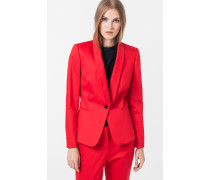 Smoking-Blazer Jasmin in Rot