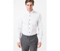 Smoking-Hemd Pasly in Weiß