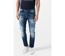Jeans Stephen in Indigo-Blau