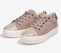 Plateau-Sneaker Daphne in Taupe