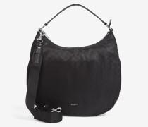 Kleine Hobo-Bag Aja in Schwarz