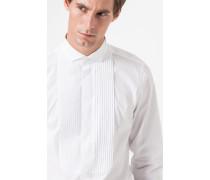 Smoking-Hemd Praddy in Weiß