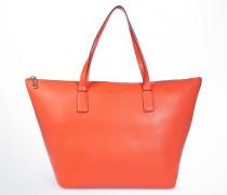 Große Handtasche Helena in Orange