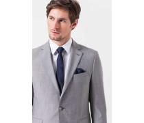 Melierter Anzug Finch-Brad in Hellgrau