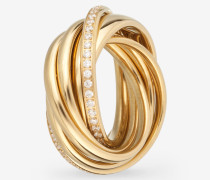 Ring Embrace in Gold