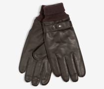 Handschuhe in Dunkelbraun