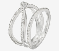 Ring Travel Refined in Silber