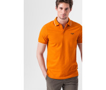 Polo-Shirt Amadeo in Orange