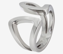 Ring Modern Shaped in Silber