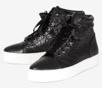 Hightop-Sneaker Daphne in Schwarz