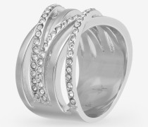 Ring Blurred in Silber