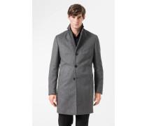 Mantel Mariso in Grau meliert