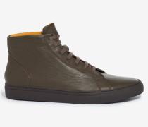 Halbhoher Sneaker Tramp by Ludwig Reiter in Oliv