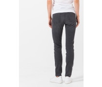 Skinny-Jeans Poppy in Washed Grey