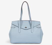 Handtasche in Hellblau