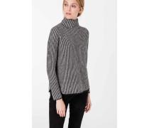 Pullover in Schwarz/Weiß