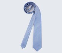 Seiden-Krawatte in Hellblau