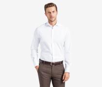 Twill-Hemd Trissio in Weiß