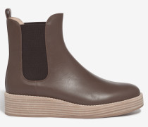 Chelsea Boot by Unützer in Schlamm-Braun