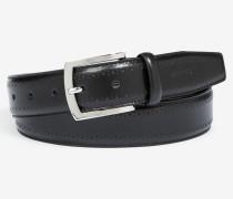 Ledergürtel in Schwarz